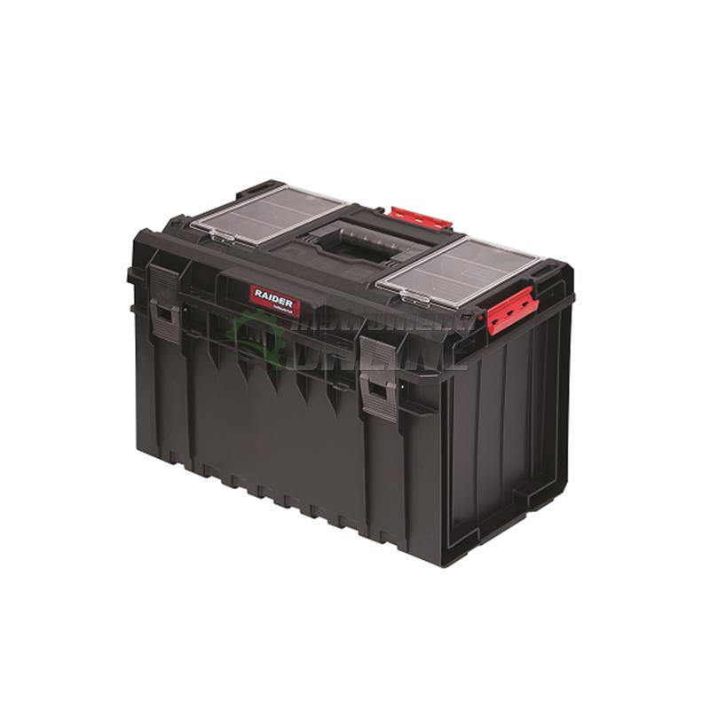 Пластмасов куфар, куфар за инструменти, мобилна система, MULTIBOX, RDI-MB52, Raider