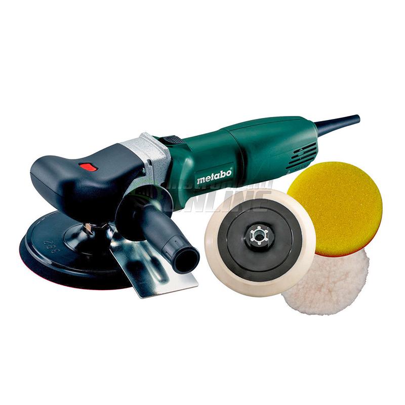 Полирмашина, 175 мм, 1200 W, 700-2200 min-1, PE 12-175, SET, Metabo
