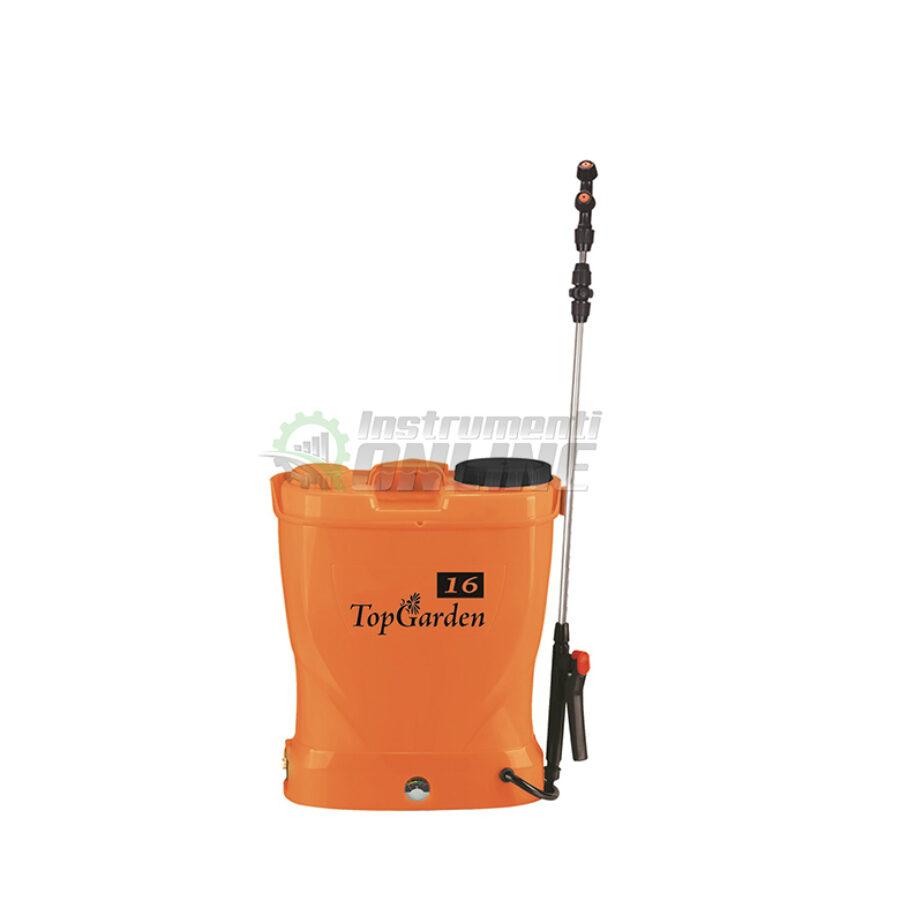пръскачка, градинска пръскачка, Пръскачка с батерия, 12 V, 8 AH, 16 литра, Top Garden