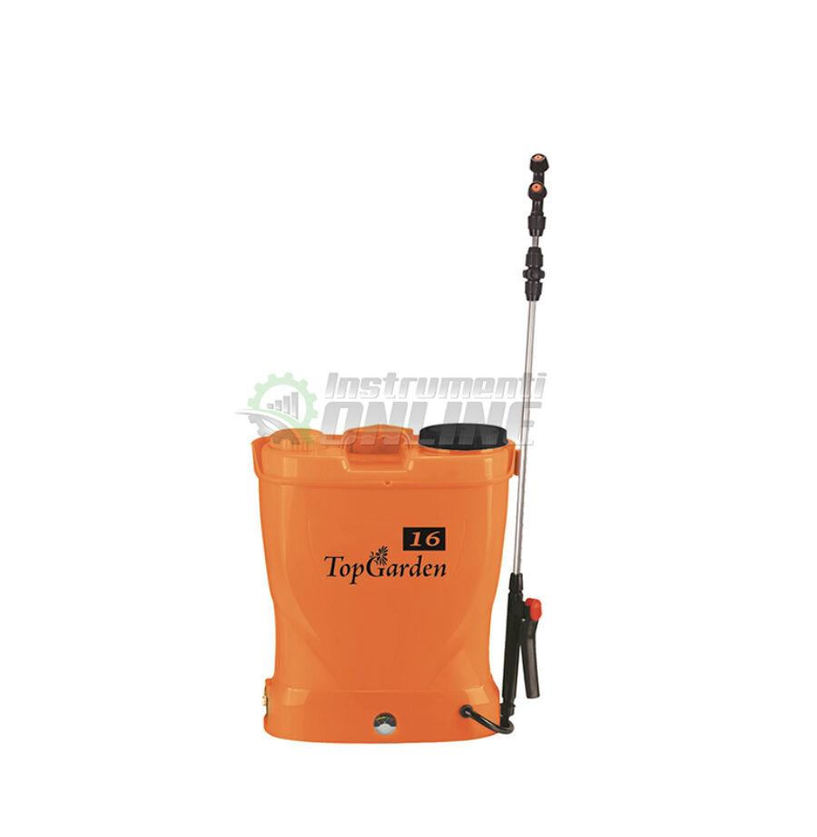 Пръскачка, пръскачка с батерия, акумулаторна пръскачка, 12 V, 8 AH, Top Garden