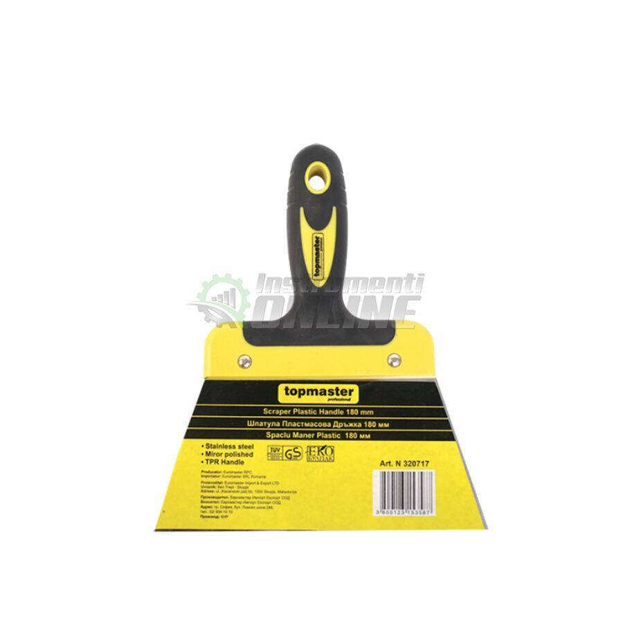 Шпакла, пластмасова дръжка, 200 мм, Topmaster, Professional