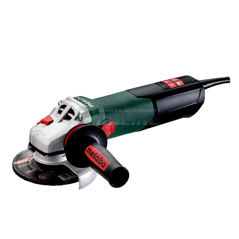 Ъглошлайф, 110 V, 125мм, 1550 W, WE 15-125, Quick, Metabo