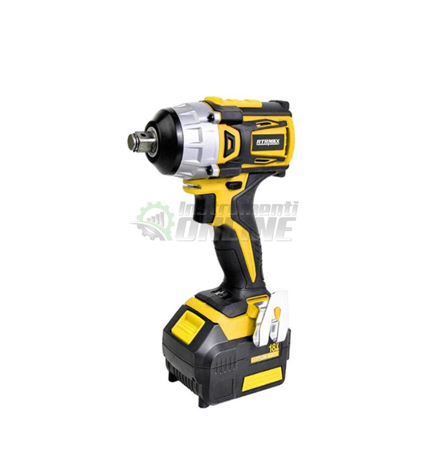 Акумулаторен, ударен, гайковерт, 18 V , 250 Nm, батерия и куфар, RTX2028, RTR MAX, RTR, MAX, RTRMAX