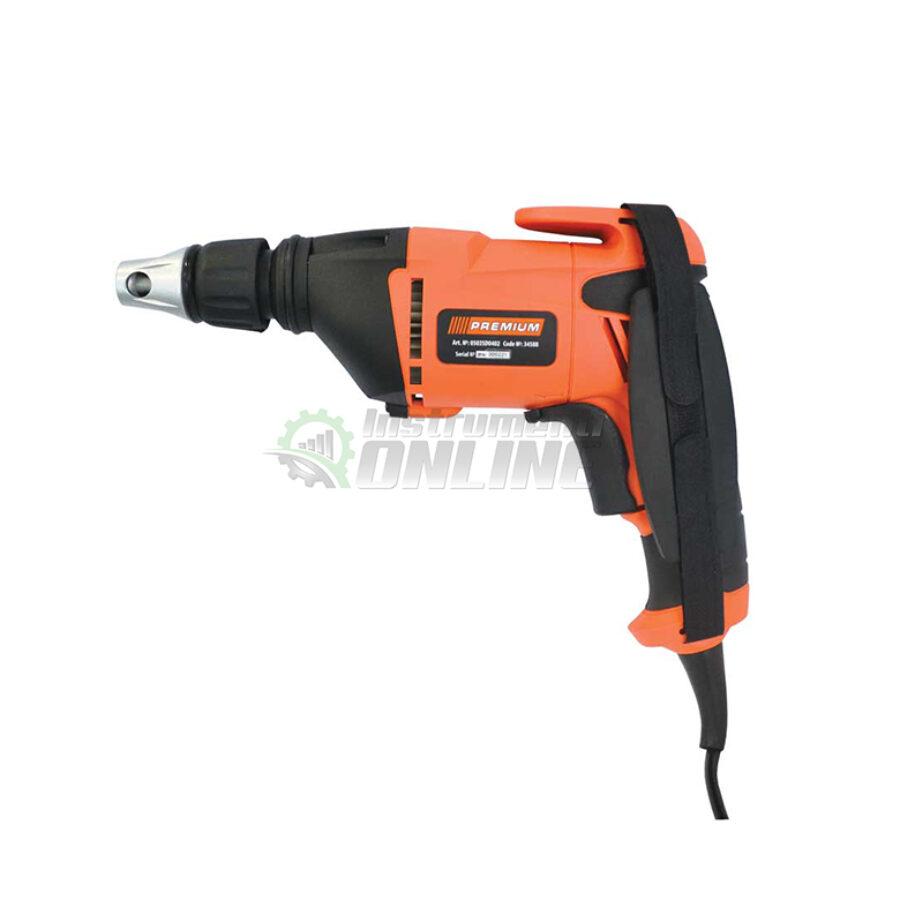 Електрически, винтоверт, за гипсокартон, 520 W, SD0402, Premium
