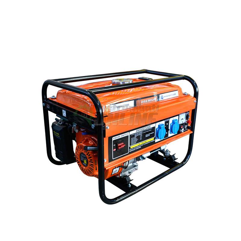 Монофазен, бензинов, генератор, 2200 W, Premium