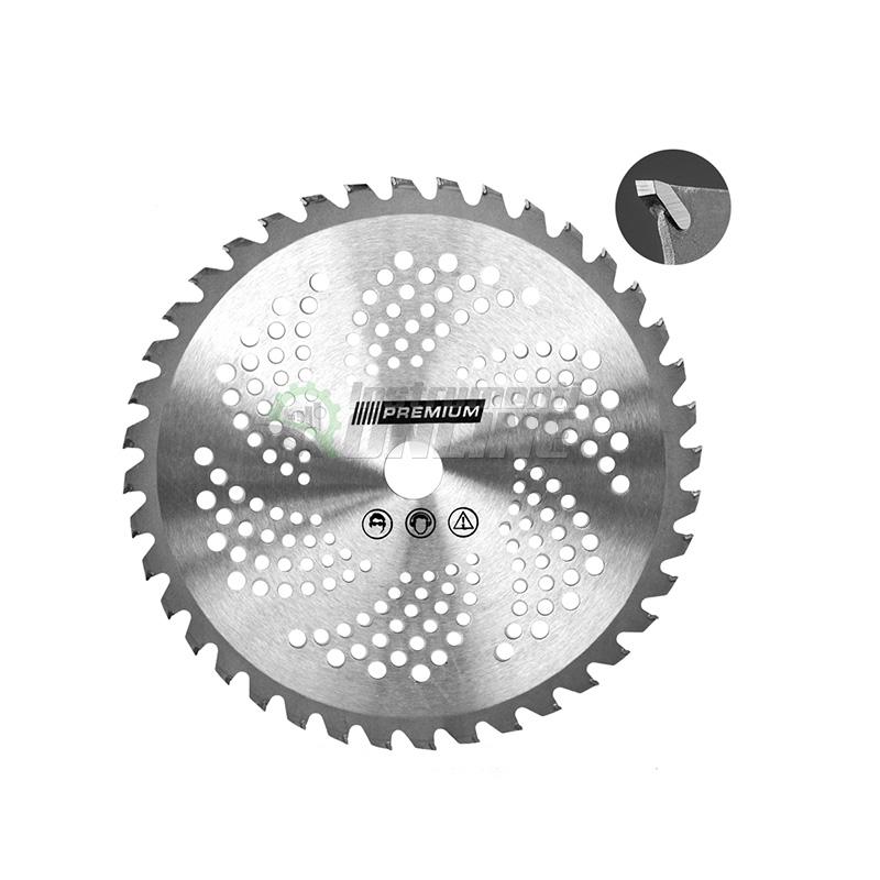 Олекотен, диск, диск за тример, 40 зъба, валидиран, фи 255 мм, 25.4 мм, Premium