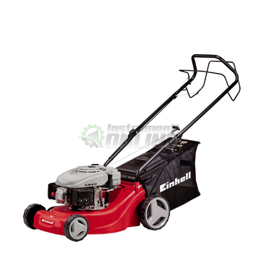 Самоходна, моторна, косачка, 1,2 kW , 40 см , 50 литра, GC-PM, 40 S-P, Einhell