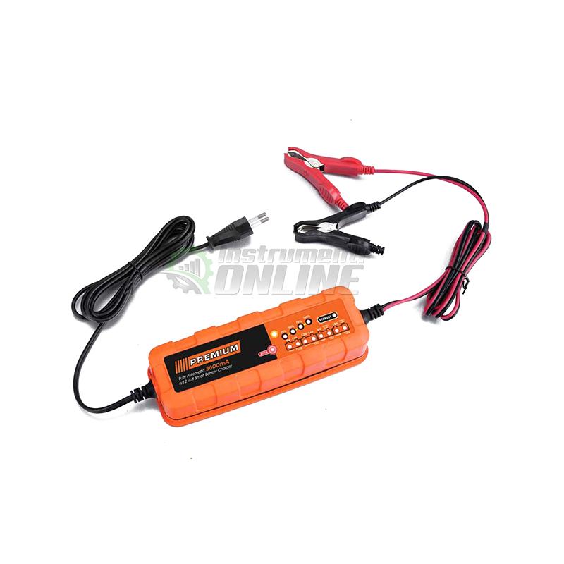 Автоматично, зарядно за акумулатор, зярдно, 14-120 Ah, 6/12 V, Smart, Premium HD