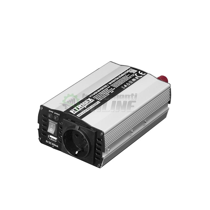 Инверторен преобразувател на напрежение / 12 V, 350-700 W / RTR MAX