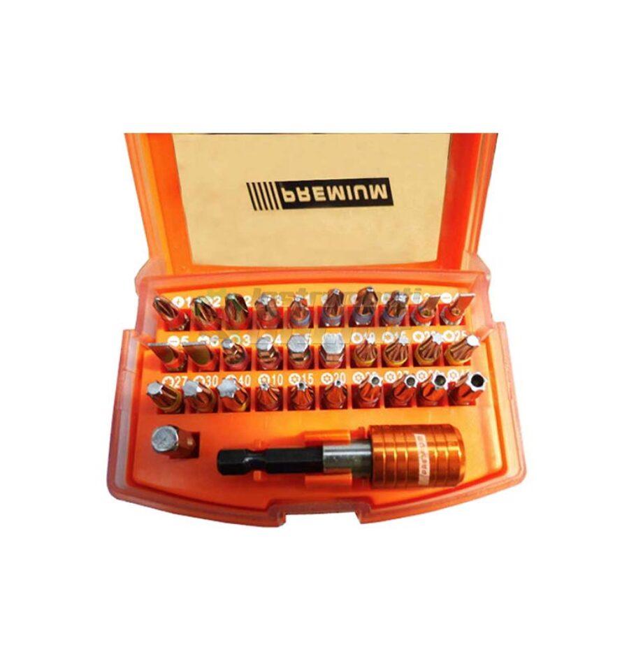 Комплект, накрайници, 16 части, Premium