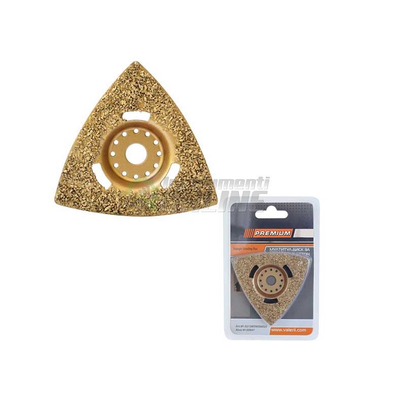 Мултитул диск за шлайфане / бетон и лепила / Premium