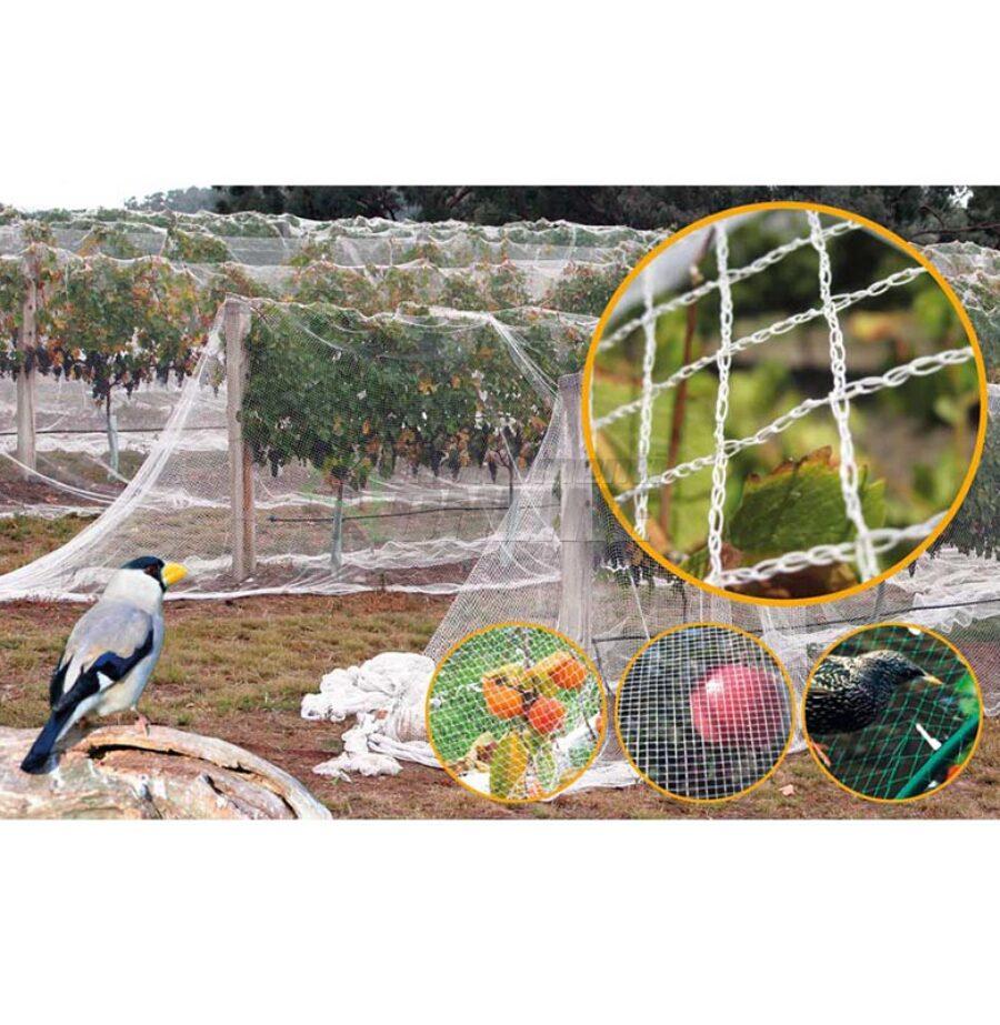 Защитна мрежа, мрежа срещу птици, 4 метра, 75 метра, Premium