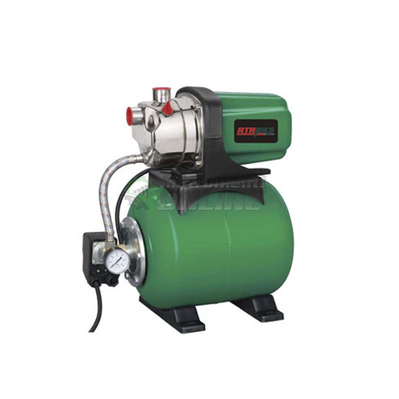 Хидрофорна, помпа, хидрофор, 1200 W, inox, 46 метра, 1700 литра, RTR,MAX