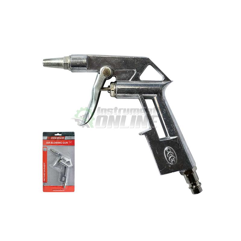 "Комплект, пистолет за въздух, 1/4"" , 12 bar , 90 мм, Premium"