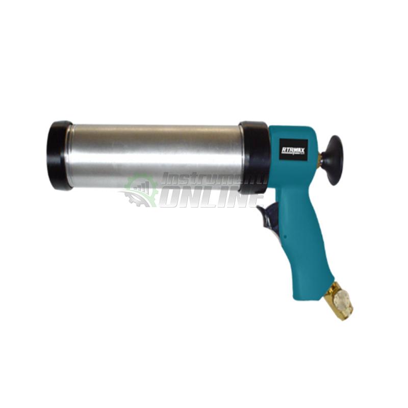 Пневматичен, пистолет, пистолет за силикон, полиуретанов уплътнител, RTRMAX
