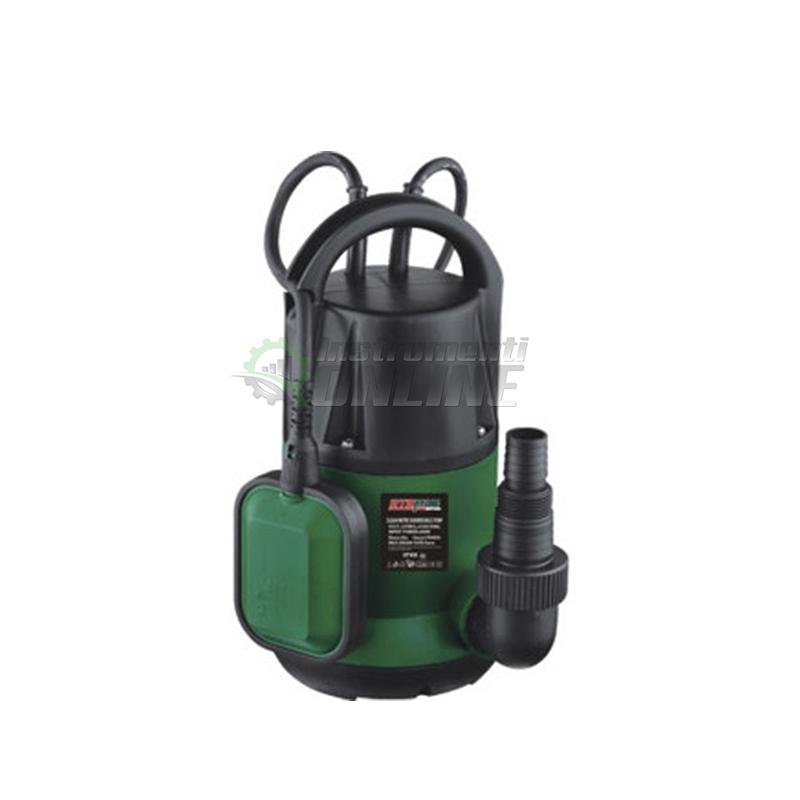 Помпа, помпа за чиста вода, помпа за вода, потопяема помпа, 400 W, воден стълб, 8.5 метра, RTM814, RTRMAX