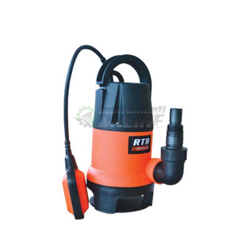 Помпа, помпа за мръсна вода, помпа за вода, потопяема помпа, поплавък, 400 W, Premium