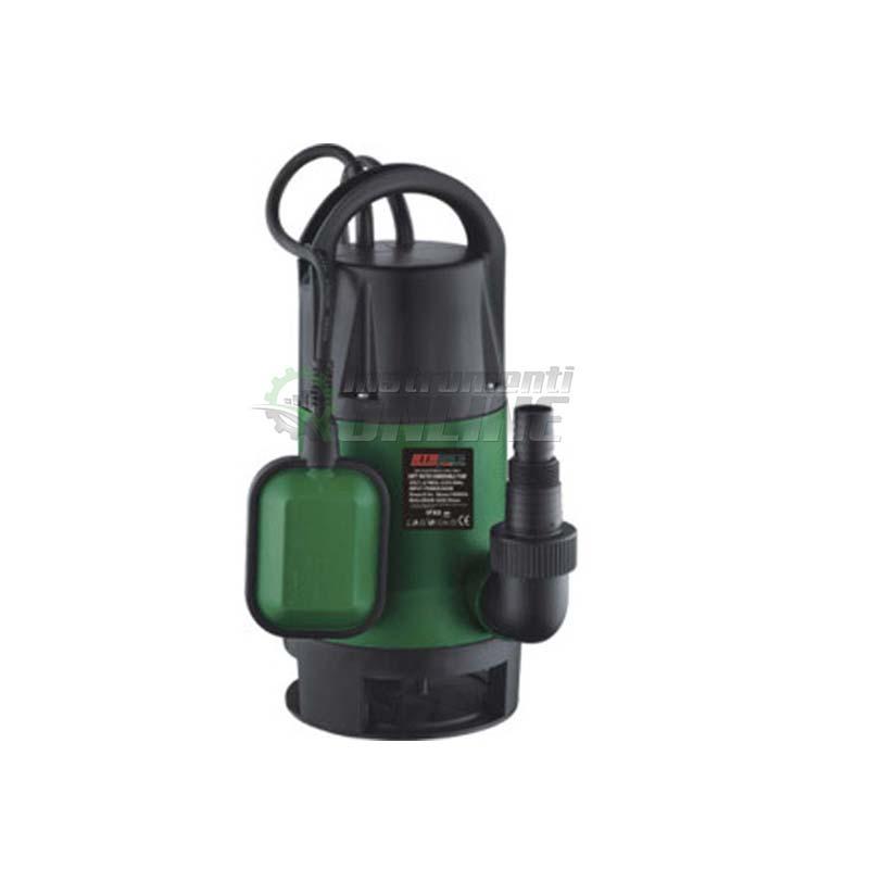 Потопяема помпа, помпа, потопяема, водна помпа, помпа за мръсна вода, 900 W, воден стълб, 8.5 метра, RTM839, RTR MAX