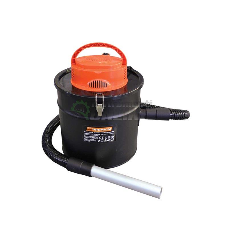 Прахосмукачка, прахосмукачка за пепел, 800 W, 18 литра, 2 кг, Premium