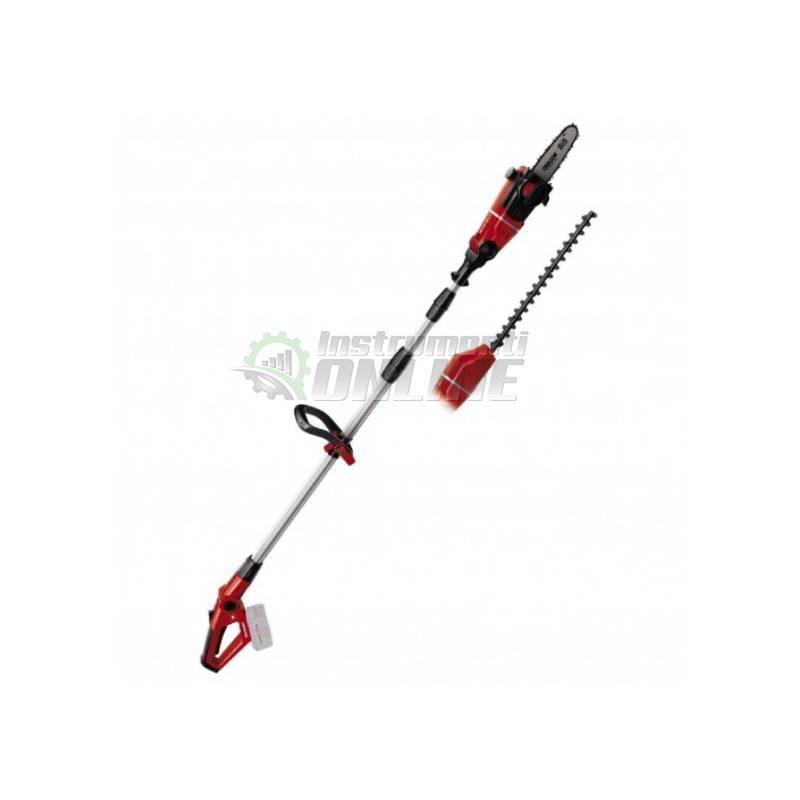 Акумулаторен телескопичен мултифункционален инструмент 2 в 1, без батерия и зарядно, GE-HC 18 Li T / 18 V, Solo Power X-Change Einhell