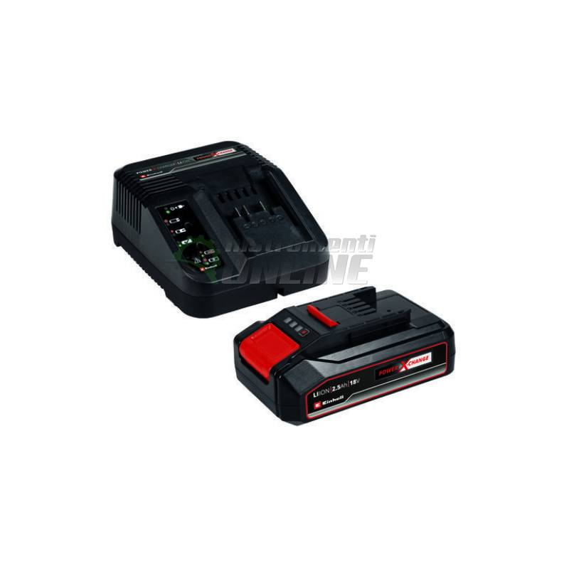 Батерия и зарядно устройство 18 V 2.5 Ah Einhell