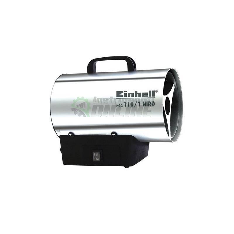 Газов калорифер , редуцир вентил, високо налягане, HGG 110/1, NIRO, Einhell
