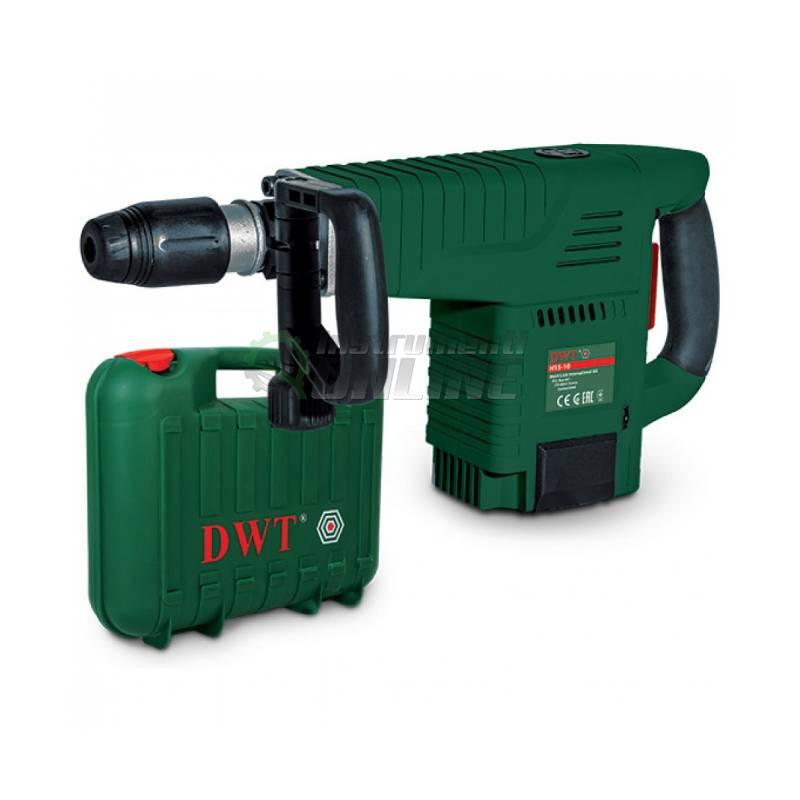 Къртач, 1500W, SDS MAX захват, куфар, шило, секач, H15-11 V BMC, DWT