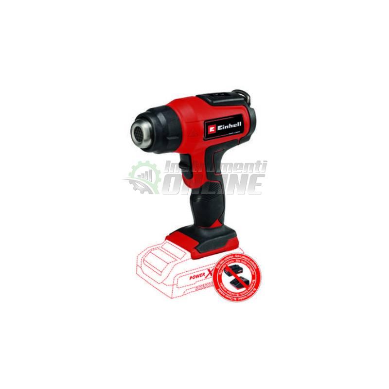 Акумулаторен, пистолет за горещ въздух, 18 V, 2 степени, TE-HA 18 Li, Solo Power X-Change, Einhell