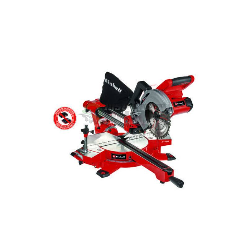 Акумулаторен, потапящ циркуляр, 36 V, 210 мм, батерии, зарядно, TE-SM 36/210 Li, Solo, Power X-Change, Einhell