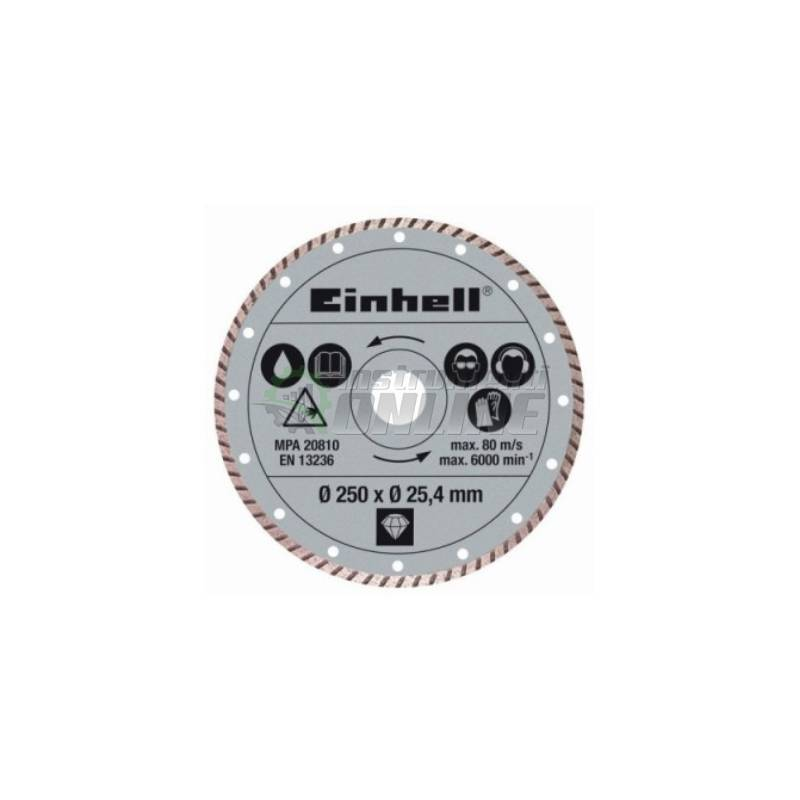 Диамантен диск, диск за рязане на камък, диск за TE-SC 570 L, Einhell