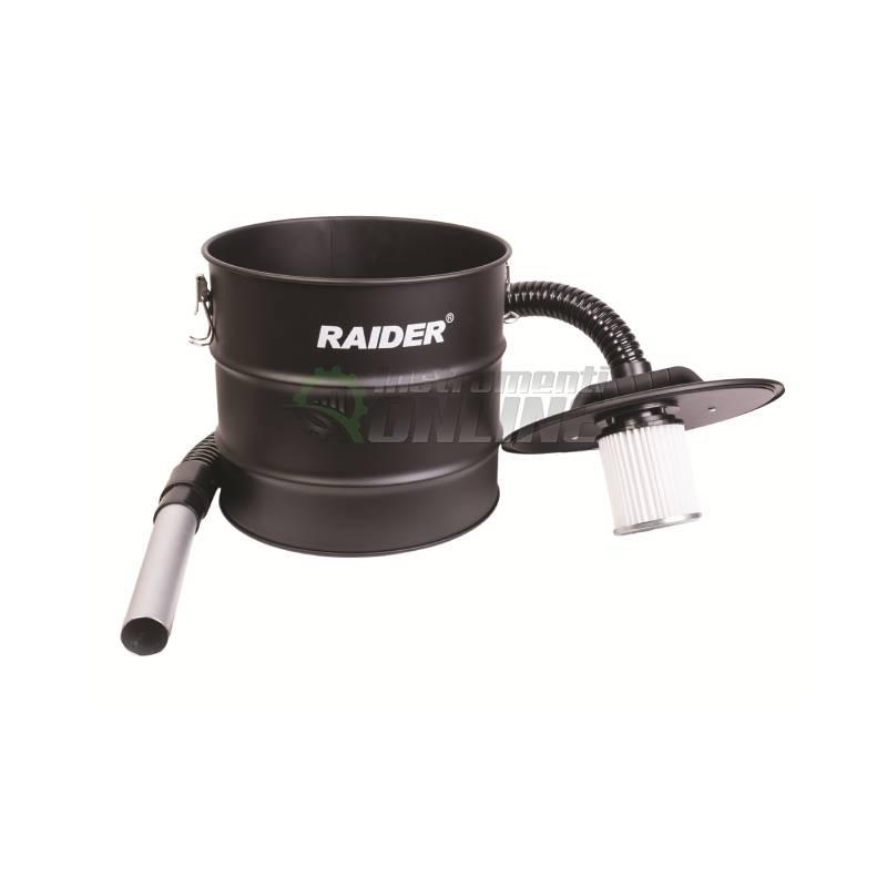 Контейнер за пепел, HEPA, ХЕПА, филтър, за прахосмукачка, 18 л, 80 см, RAIDER
