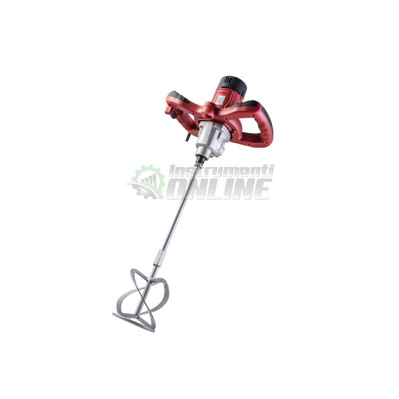 Миксер, миксер за строителни, разтвори, 1400 W, M14 x 2 mm, RD-HM08, Raider