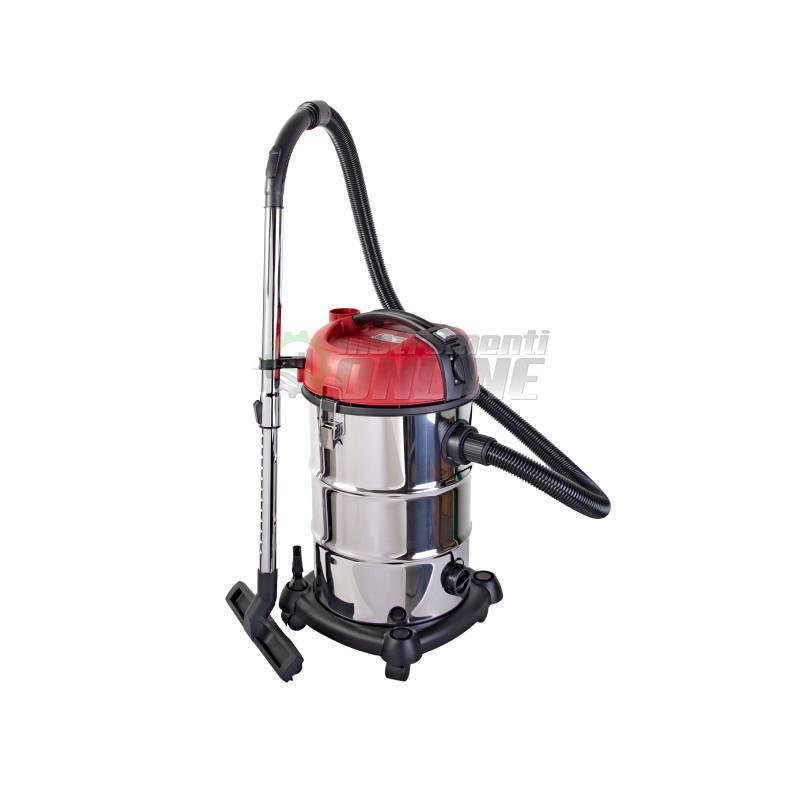 Прахосмукачка, за сухо, мокро почистване, 1300 W, 30 L, RDP-WC04, Raider