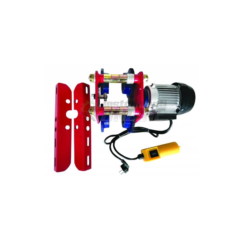 Релсова количка, количка за телфер, 1 т, 300 W, 13 м/мин, RD-EH06, Raider
