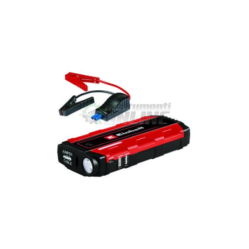 Стартерно устройство, 12 V, 400 A, Батерия, 2500 mAh- Li-Po, CE-JS 8, Einhell